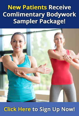 new patients receive a complimentary bodywork sampler package!